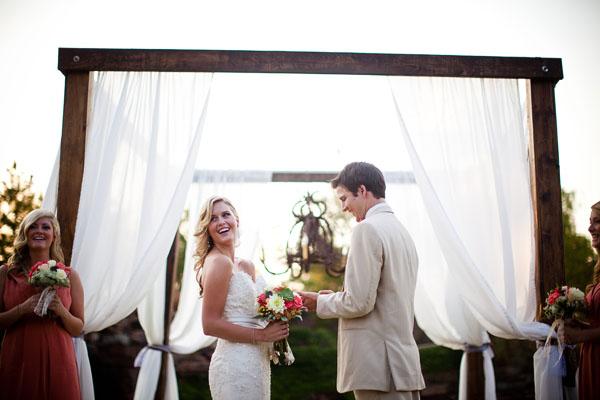 weddingideasAmyRaePhotographyoutdoorceremonymodernhuppah